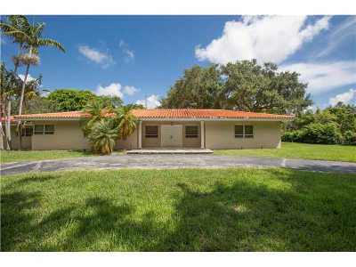 Coral Gables Single Family Home Active-Available: 601 Sunset Rd