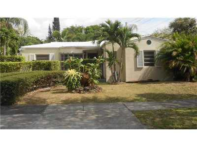 Miami Shores Single Family Home Active-Available: 185 Northeast 106th St