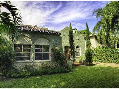 Coral Gables Single Family Home For Sale: 415 Aledo Ave