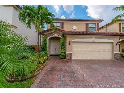 Doral Single Family Home Active-Available: 11480 Northwest 88th Ln