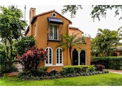 Coral Gables Single Family Home Active-Available: 1532 Catalonia Ave