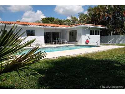North Miami Single Family Home Active-Available: 11670 Canal Dr