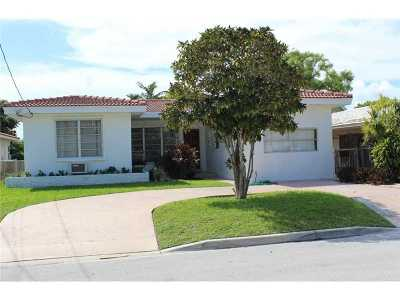 Surfside Single Family Home Active-Available: 8842 Byron Ave
