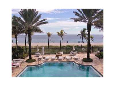 Lauderdale By The Sea Condo For Sale: 4445 El Mar Dr #2304
