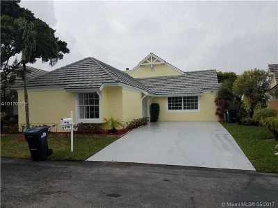Doral Single Family Home Active-Available: 4750 Northwest 98th Pl