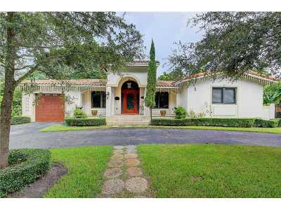 Coral Gables Single Family Home Active-Available: 1545 Trillo Ave