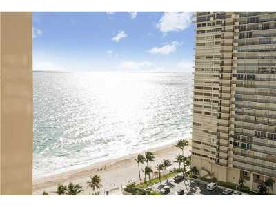 Fort Lauderdale Condo For Sale: 4300 N Ocean Blvd #17G