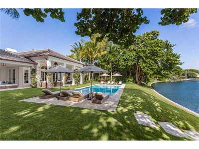 Miami, Miami Beach Single Family Home Active-Available: 4445 Lake Rd