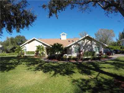 Wellington Single Family Home For Sale: 14900 S Horseshoe Trce