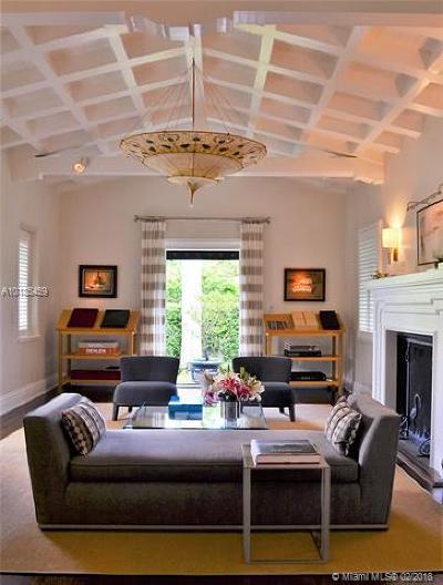 Miami Beach Single Family Home For Sale: 3334 Garden Ave