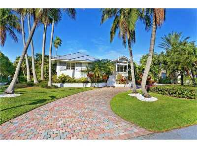 Key Biscayne Single Family Home For Sale: 390 Gulf Rd