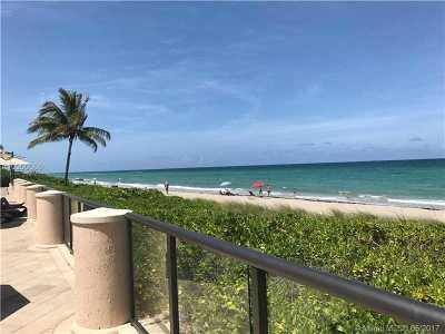 Hallandale Condo Active-Available: 1920 South Ocean Dr #8D