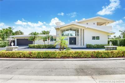 Bay Harbor Islands Single Family Home For Sale: 9825 Broadview Ter