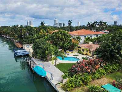 Miami, Miami Beach Single Family Home For Sale: 3434 Chase Ave