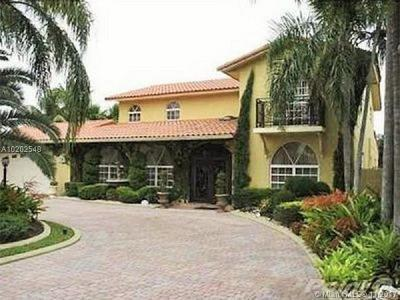 Hialeah Single Family Home Active-Available: 7235 North Oakmont Dr
