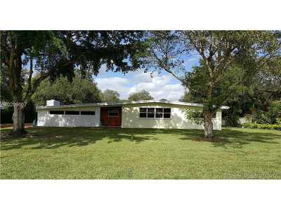 South Miami Single Family Home For Sale: 7801 SW 66th St