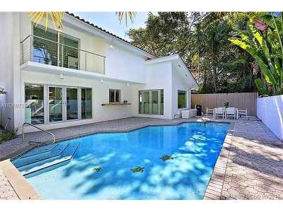 Coconut Grove Single Family Home Active-Available: 2800 Crystal Ct