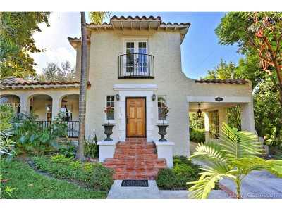 Coral Gables Single Family Home Active-Available: 944 Andres Ave