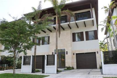 Coconut Grove Single Family Home For Sale: 3550 W Glencoe St