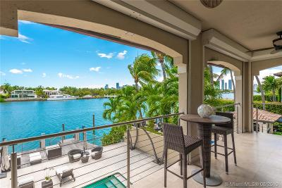Miami Beach Single Family Home For Sale: 184 S Hibiscus Dr