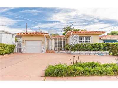 Surfside Single Family Home Active-Available: 9065 Abbott Ave