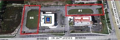 Pembroke Pines Single Family Home For Sale: Pines Crossings Parcel 1 W Pines Blvd