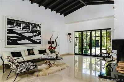 Miami Beach Single Family Home For Sale: 4437 Sheridan Ave