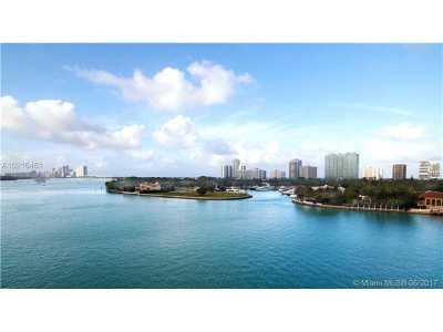 Bay Harbor Islands Condo For Sale: 10201 E Bay Harbour #601