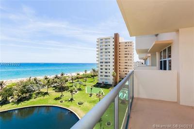 Pompano Beach Condo For Sale: 1620 N Ocean Blvd #606
