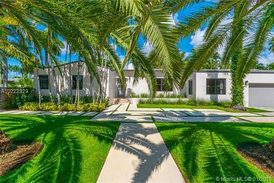 Miami Beach Single Family Home For Sale: 300 E San Marino Dr