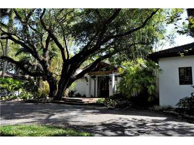 Coral Gables Single Family Home For Sale: 5250 SW Fairchild Way