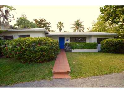 Key Biscayne Single Family Home For Sale: 482 Ridgewood Rd