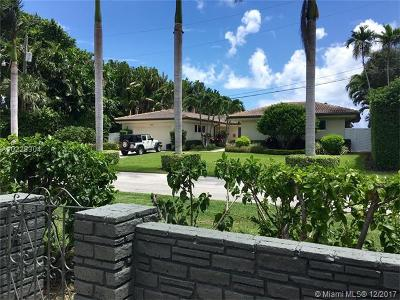 Miami Shores Single Family Home Active-Available: 1298 Northeast 100th St