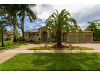 Davie Single Family Home Active-Available: 4074 Southwest 140th Ave