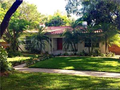 Miami Shores Single Family Home Active-Available: 158 Northwest 94th St