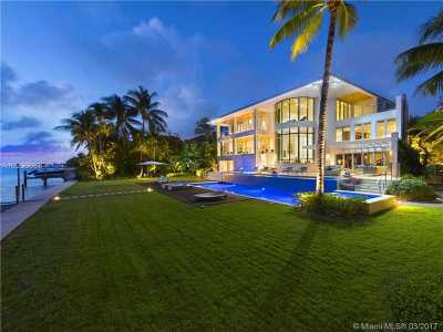 Key Biscayne Single Family Home Active-Available: 500 South Mashta Dr