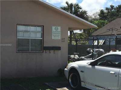 Dania Beach Multi Family Home Active-Available: 235 Southwest 12th St
