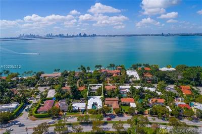 Miami Beach Single Family Home For Sale: 5725 N Bay Rd