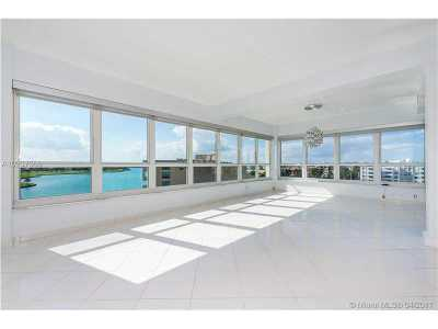 Bay Harbor Islands Condo For Sale: 9102 W Bay Harbor Dr #7A