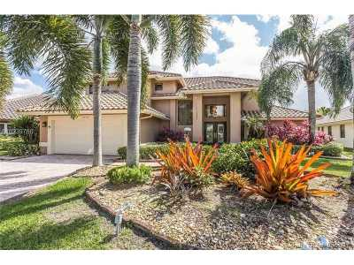 Plantation Single Family Home Active-Available: 9860 Southwest 4th St