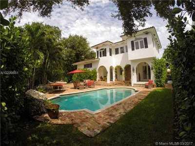Miami Shores Single Family Home Active-Available: 540 Grand Concourse