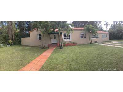 Miami Shores Single Family Home Active-Available: 262 Northeast 103rd St