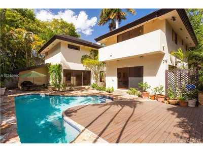 Coconut Grove Single Family Home Active-Available: 3900 South Douglas Rd