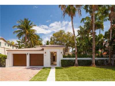 Miami, Miami Beach Single Family Home Active-Available: 4515 North Meridian Ave
