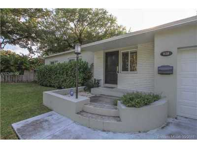 South Miami Single Family Home Active-Available: 7430 Southwest 63