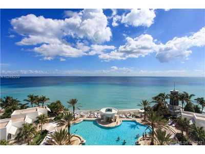 Hollywood Condo For Sale: 3101 S Ocean Dr #708