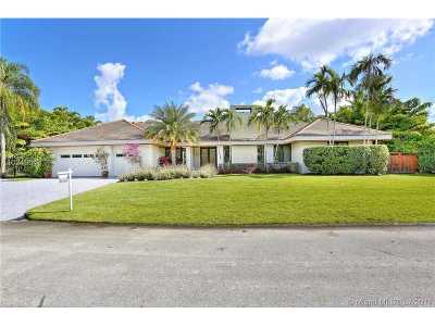 Pinecrest Single Family Home Active-Available: 7681 Southwest 107 St