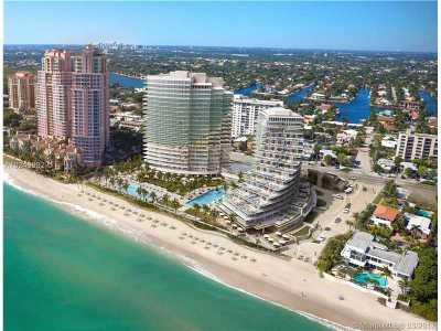Fort Lauderdale Condo For Sale: 2200 N Ocean Blvd #1203