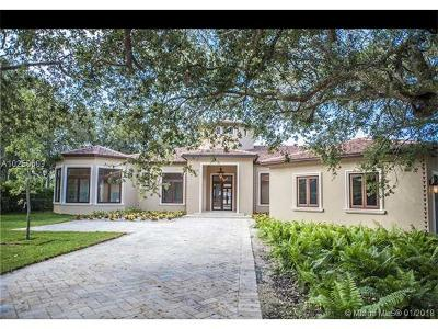 Pinecrest Single Family Home For Sale: 7430 SW 100th St