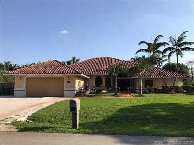 Plantation Single Family Home Active-Available: 11850 Northwest 27th St